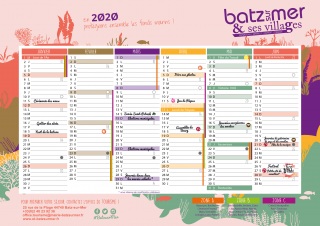 Batz-sur-Mer Kalender 2020