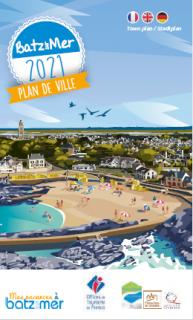Stadtplan von Batz-sur-Mer 2021