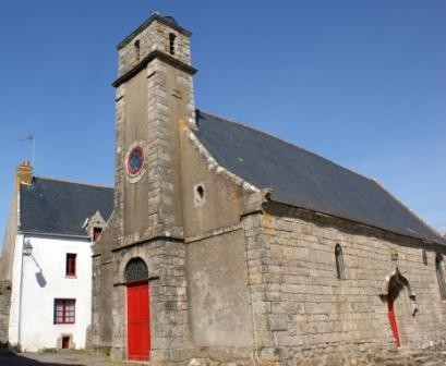 The chapel of Saint-Marc in Kervalet