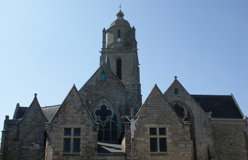 Die Kirche Saint-Guénolé
