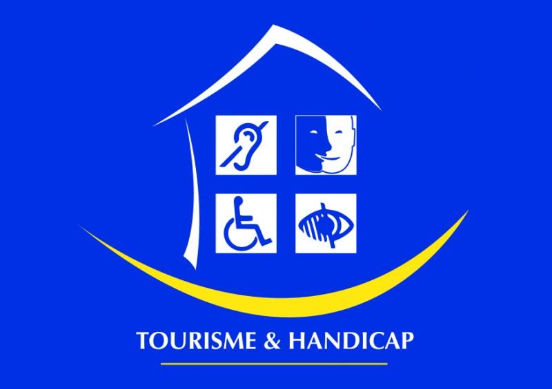 Tourismus und Handicap Label