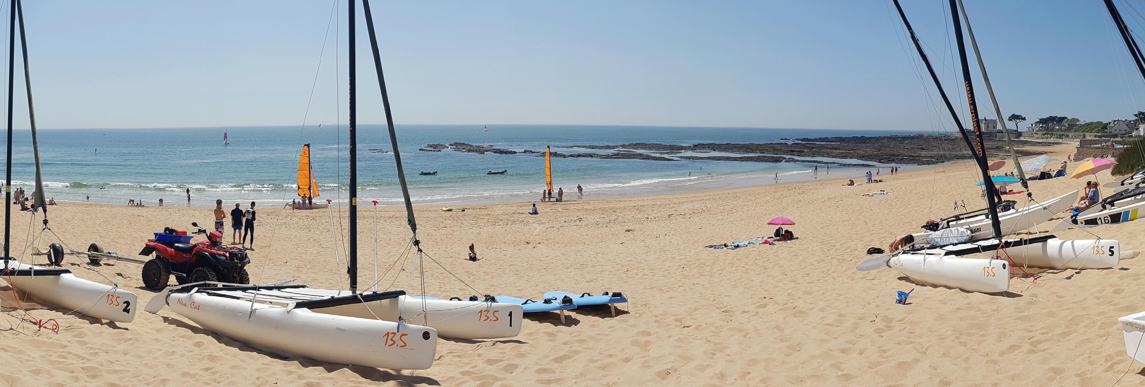 Batz-sur-Mer, plage Valentin