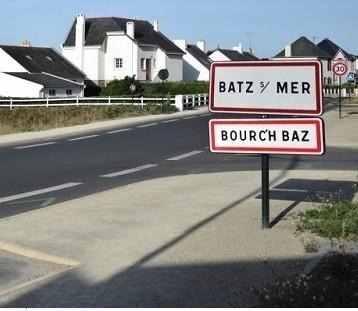 Driving to Batz-sur-Mer