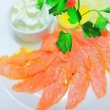 Salmon plate - L'aporrhais