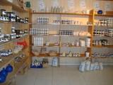 La boutique du Natursel : sel fin, gros sel, sel parfumé aux herbes aromatiques, etc.