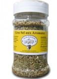 Gros sel aux aromates en vente Aux Gourmandises du marais à Batz-sur-Mer