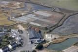 Le Paludier, Société Bourdic à Batz-sur-Mer, vue aérienne de l'entreprise
