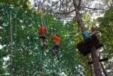 Monkey Forest Aventures & Loisirs - passage dans les filets - Saint-Molf