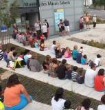 Musée des Marais Salants à Batz-Sur-Mer vue extérieure animation