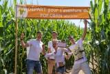 Pop Corn Labyrinthe photo entre ami Guérande