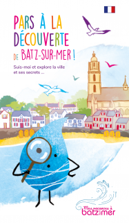 Discovering Batz-sur-Mer  with fun !