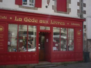 Façade librairie - La Gède aux Livres