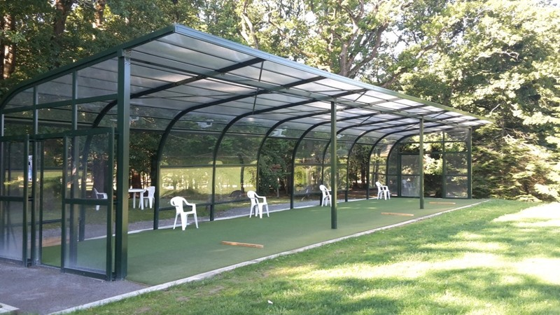 01 - Practice de Golf Château de La Baule Lesnerac