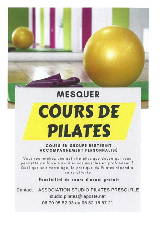 Association Studio Pilates Presqu'île