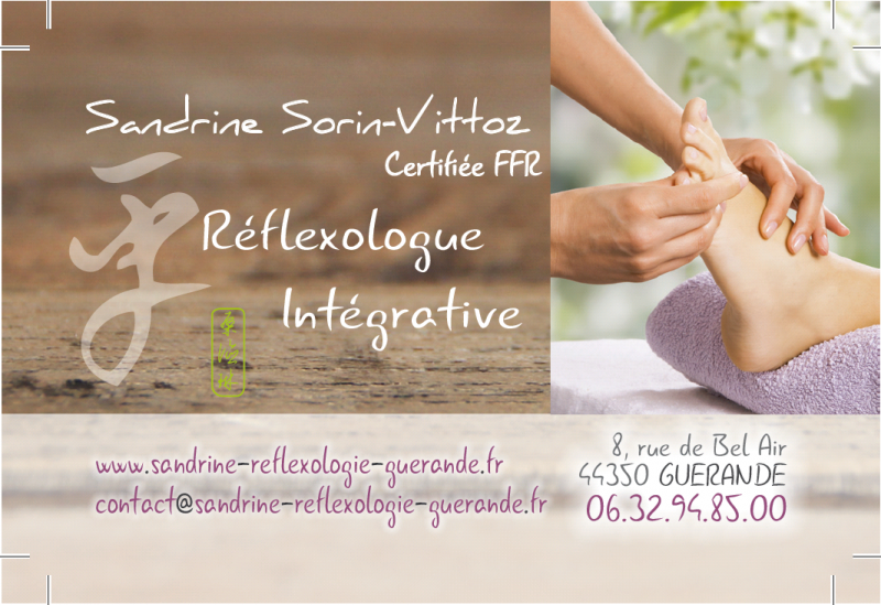 Bien être Réflexologie Plantaire à Guérande Sandrine Sorin Vittoz