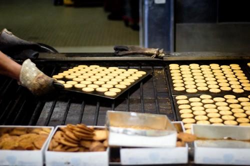Locals cookies factory Saint-Guénolé