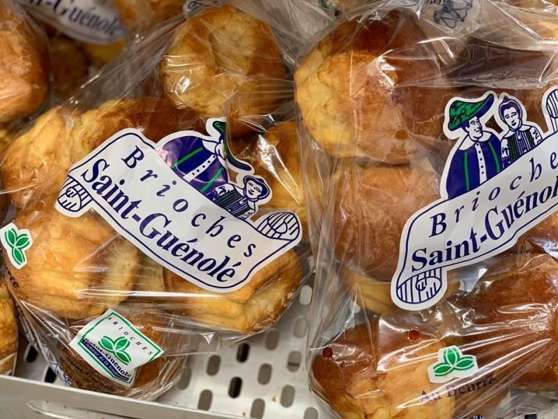 Brioche - Locals cookies factory Saint-Guénolé