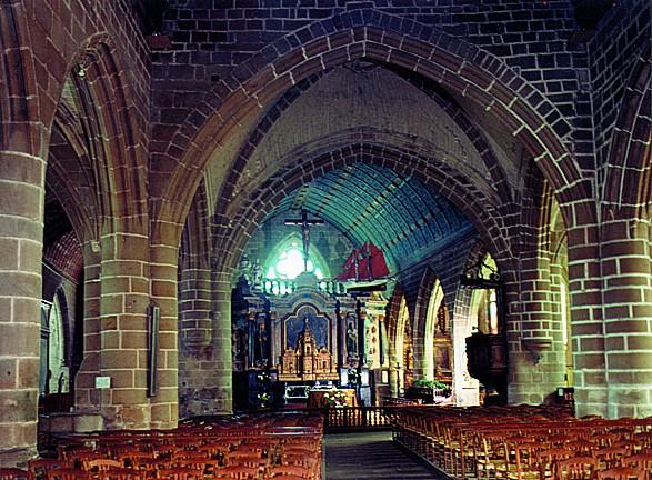 The church of Saint-Guénolé