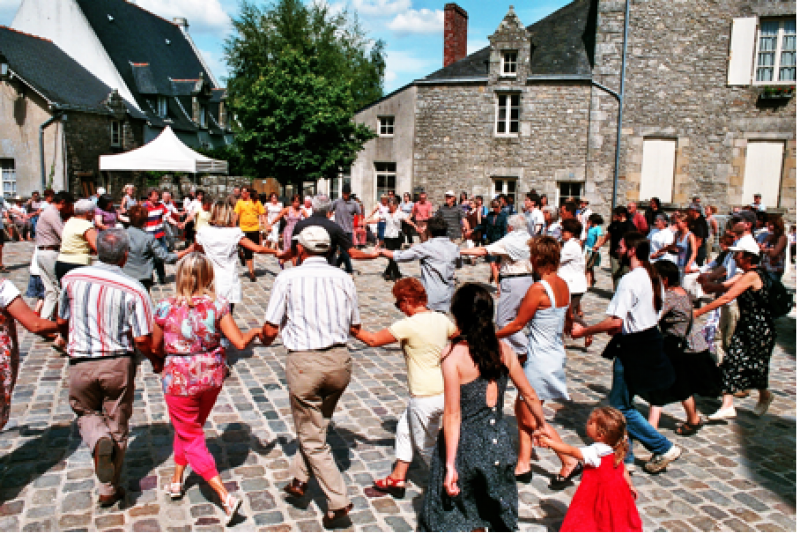 Guérande Skol Al Louarn - Cours de breton - Danse
