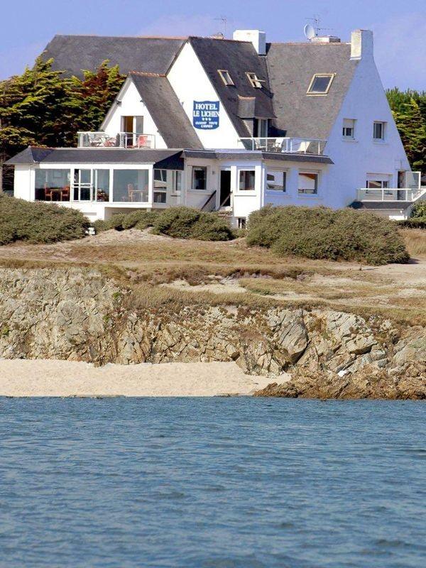 Hôtel Le Lichen de la Mer - Côte sauvage de Batz sur Mer - Vue extérieure