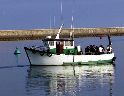 La Toison d'Or, bateau promenade et pêche en mer
