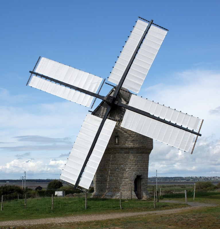 The Windmill of 'La Falaise'