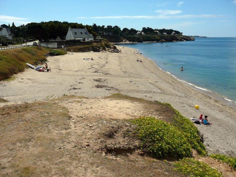 Plage de Brambell à Piriac-sur-Mer, vue du sentier côtier