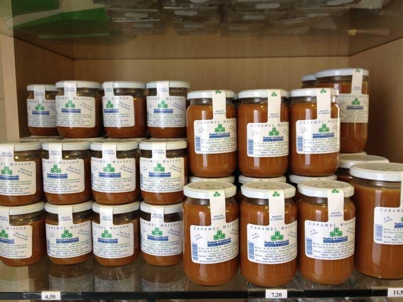 Caramel - Biscuit factory Saint-Guénolé