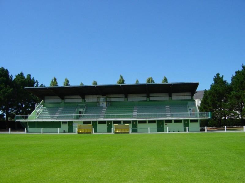 Guérande - Tribunes stade Jean Ménager