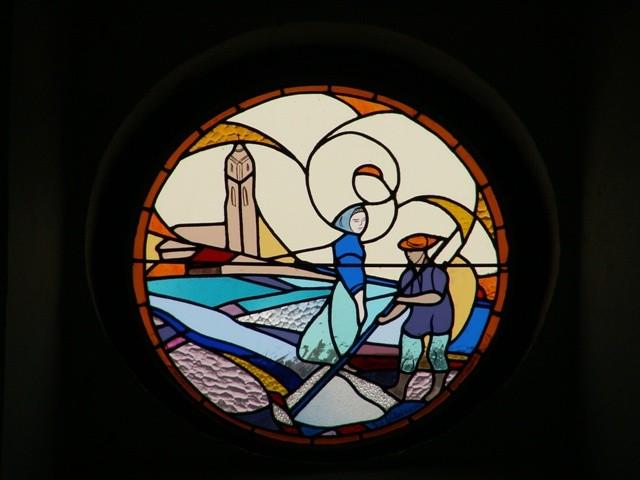 Vitrail - Chapelle Saint-Marc de Kervalet à Batz-sur-Mer