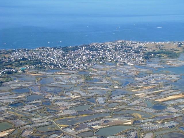 The salt marshes