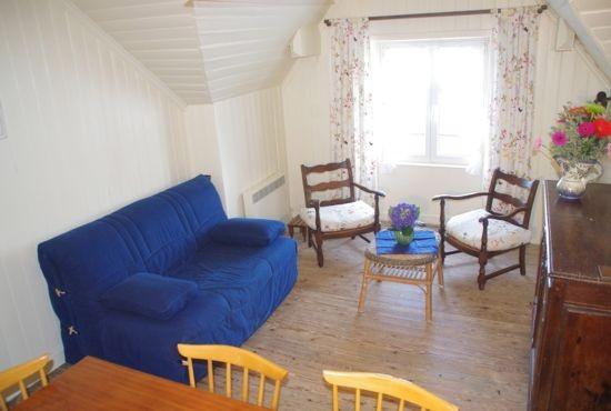 Appartement Fleur de Sel à Batz-sur-Mer - Salon